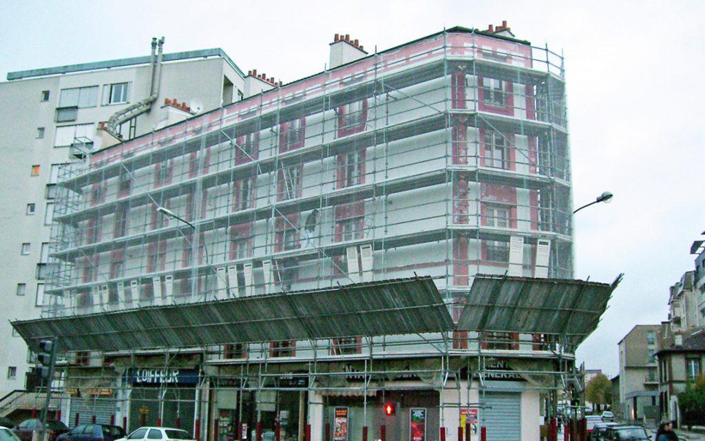 Travaux de façade - Dubourg